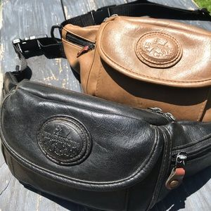 Cedarwoods Feax Leather Fanny Pack